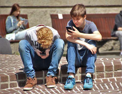 Os telemóveis e as crianças